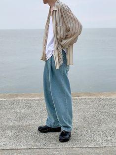明るめなシャツとウォッシュデニムで爽やかに🙆♂️ インスタもお願いします! @osayu912a Harem Pants, How To Wear, Fashion, Moda, Harem Jeans, Fashion Styles, Harlem Pants, Fashion Illustrations, Fashion Models