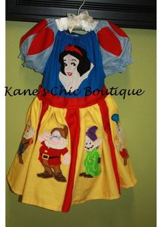 Really nice work on Snow White and each of the dwarfs.