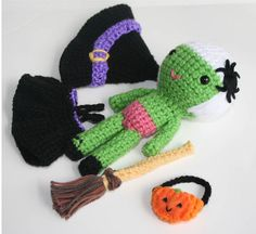 witch doll set, via Flickr.