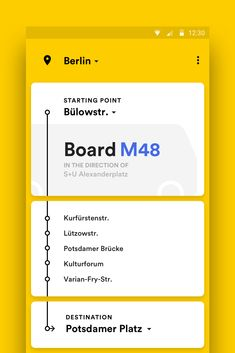 Public Transport for Android – MaterialUp. If you like UX, design, or design thinking, check out theuxblog.c