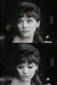 Anna Karina.  (Danish actress and singer but his career developed in France)