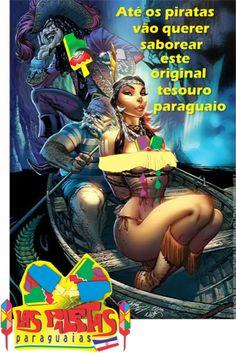 Peça fantasma criada para o cliente Las paletas Paraguaias. Curso de Publicidade e propaganda da FNM - Vila Velha ES