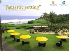 Hello #Friday ! Let's prepare and plan #wonderful #escape for this #weekend . #PanPacificBali #Bali #Resort #Holiday