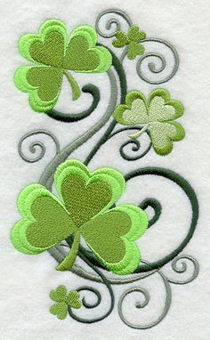 Hey, I found this really awesome Etsy listing at https://www.etsy.com/listing/78059283/filigree-shamrocks-stack-embroidered