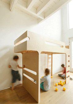 Groovy bunkbed by RAFA Kids