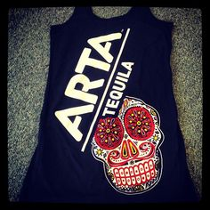 dresses for #ARTA tequila with discharge base white for that soft hand feel #fashion #apparel #printing #art #screenprint #life #love #lifestyle #brand #superiorink #denver #obvious