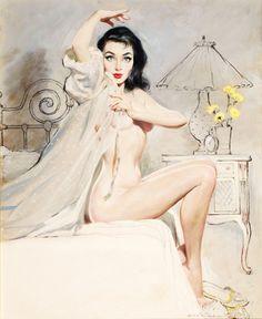 Vintage Retro Burlesque Pin Up Girl Large Poster Pin Up Vintage, Photo Vintage, Retro Pin Up, Vintage Art, Vintage Woman, Retro Art, Antique Art, Vintage Style, Vintage Ladies