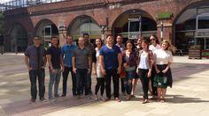 Post-lunch team shot @ Granary Wharf #LifeatZeal (2014)