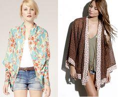 Sheer loose shawls