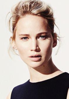 Jennifer Lawrence photographed by Thomas Lohr for Madame Figaro