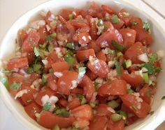 Easy Recipe for Fresh Salsa