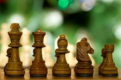 Chess pieces ranked by size