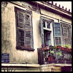 A balcony in Plaka  #Athens #greece