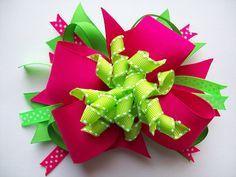 Pinks & greens.