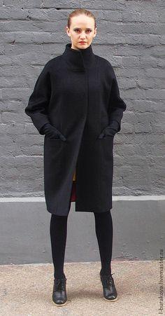 Верхняя одежда ручной работы. Стильное пальто из шерсти. LBclub. Ярмарка Мастеров. Пальто из шерсти, стильная одежда