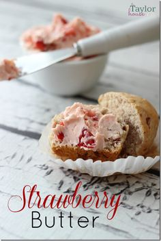 Easy Strawberry Butter Recipe