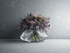 Georg Jensen glass vase - small