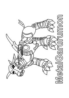 Free Digimon Coloring Page Pages 21 Printable