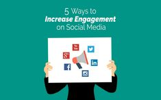 5 Ways To Increase Social Media Engagement In 2018 Content Marketing, Internet Marketing, Online Marketing, Social Media Marketing, Digital Marketing, Social Media Engagement, Big Challenge, Seo Tips, Inspirational Message