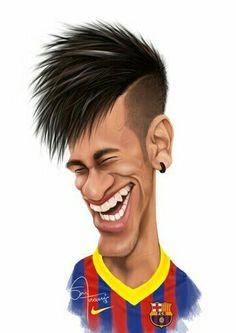 Neymar #futboldibujos