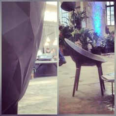 Take a seat on the Diesel Rock Chair at Salone del Mobile 2013  #diesel #dieselhome #milandesignweek #mdw2013 #inspiration #interior #furniture photo by dieselpics