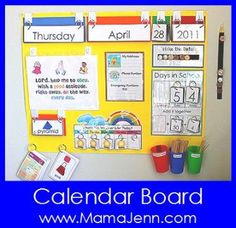 Calendar/morning board
