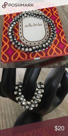 NIB stunning blingy bracelet Bling is my best friend!  Great for a night out! Stella & Dot Jewelry Bracelets