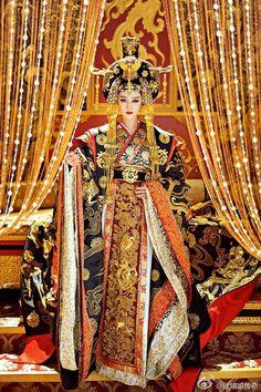 Film China, Wu Zetian, The Empress Of China, Fan Bingbing, Pretty Asian, Princess Outfits, Asia Girl, Orient, Hanfu