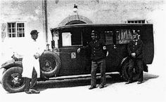 Erster motorisierter Krankenwagen aus 1924