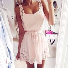 Slim Sexy Pink Dress