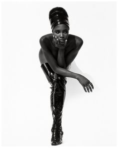 Herb Ritts - Naomi Campbell, Hollywood, 1990