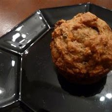 Whole Wheat Carrot-Raisin Muffins