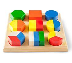 whole brain preschool toys | Wood Fraction Blocks Preschool Educational Math Toys