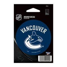 "Vancouver Canucks Vinyl decal 3"" x 3"""