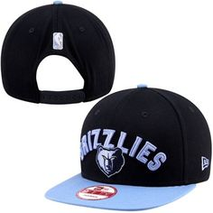 New Era Memphis Grizzlies Current Logo 9FIFTY Snapback Hat - Navy Blue