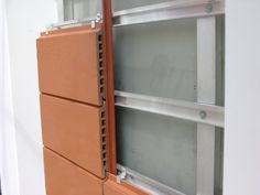 Moeding provides high quality ceramic materials to curtain wall and ventilated facade systems market with the brands Alphatonand Longoton Masonry Construction, Ceramic Materials, Building Materials, Bathroom Medicine Cabinet, Locker Storage, Curtains, Architecture, Wall, Terra Cotta
