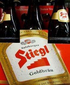 Es kann nur ein #Bier für #Treppenbauer geben. #Stiegl #smgtreppen
