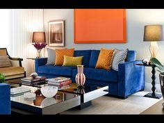 Ideias para decorar o sofá com almofadas