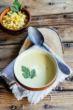 Deleita tu paladar con esta deliciosa crema de elote que es muy fácil de preparar.  #RecetasFaciles #CremaDeElote #Recetas