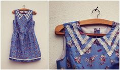 A Stitching Odyssey: Watch This Lace - Anna's beautiful bird dress