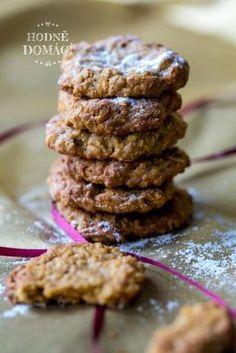 Mrkvové sušenky | Hodně domácí Sweet Desserts, Sweet Recipes, Dessert Recipes, Cooking Recipes, Healthy Recipes, Aesthetic Food, Deserts, Food And Drink, Yummy Food