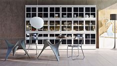 Awesome Concrete furniture: ideas for home decor, Arc table, Foster&Partners, Molteni&C, 2009  