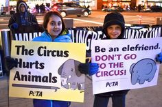 12-Year-Old Leads Protests Against Ringling Bros. Circus In Brooklyn