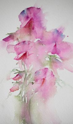 Watercolours With Life: Scented Collection : Sweet Pea Florals 2013