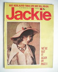 Jackie magazine - 23 February 1974 (Issue 529)