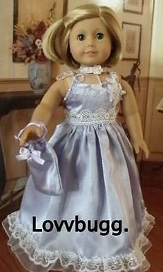 Lovely Lilac Dress for 18 inch American Girl Doll LOVVBUGG HAS WIDEST SELECTION!