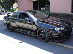 Provocative by Luda R34 Gtr, Nissan Gtr Skyline, Tuner Cars, Jdm Cars, Nissan R34, Street Racing Cars, Auto Racing, Drag Racing, Cool Car Pictures
