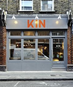 Kin Restaurant by Office Sian and Kai Design - Dezeen