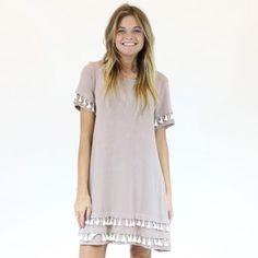 Dress - Taupe