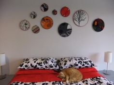 Hoop wall art
